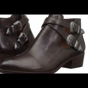 Frye slate boots (ray western shootie)